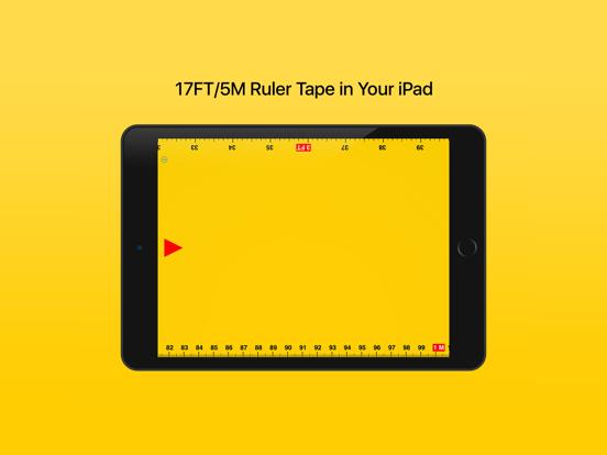 Ruler Tape 17: ルーラーのおすすめ画像1