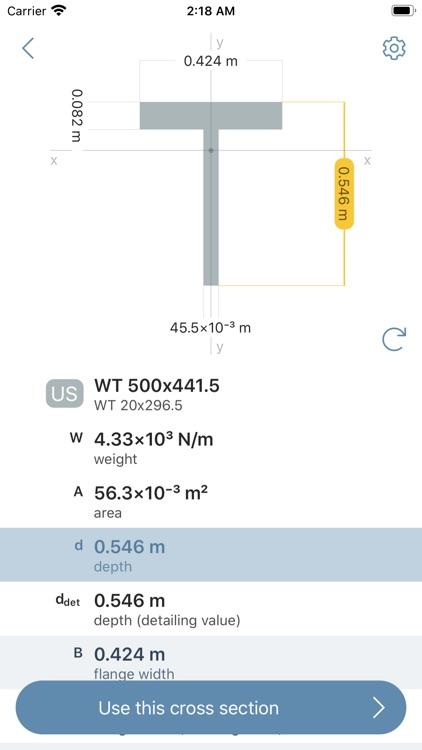 Deflection Beam Calculator screenshot-6
