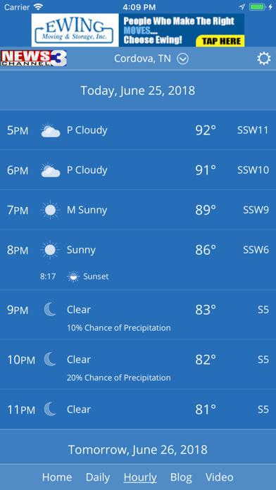 WREG Memphis Weather by Tribune Broadcasting Company (iOS