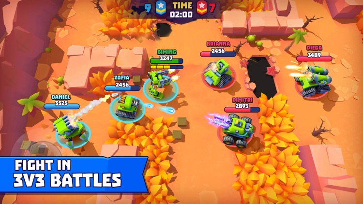 Tanks A Lot - 3v3 Brawls screenshot-0