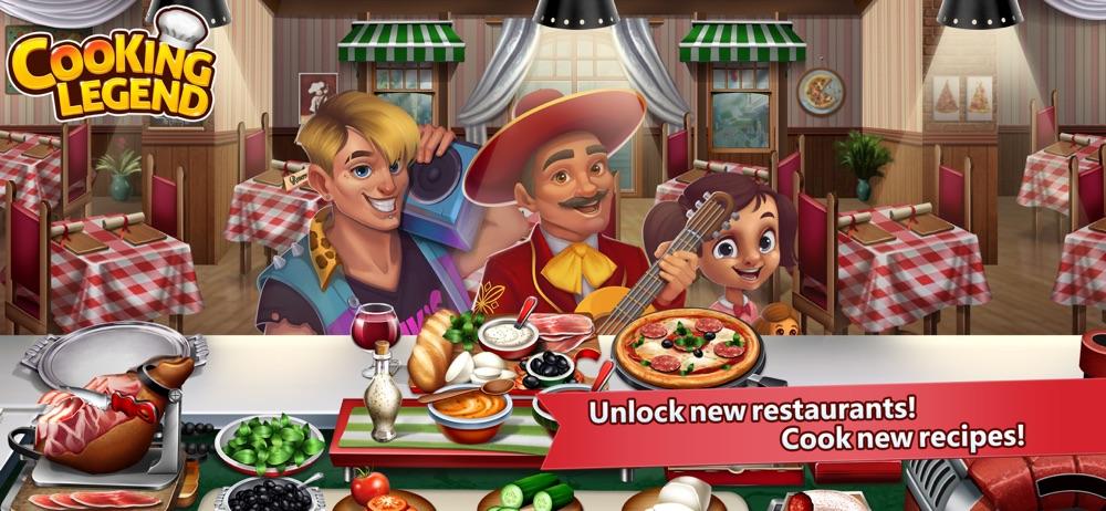 Cooking Legend Restaurant Game hack tool