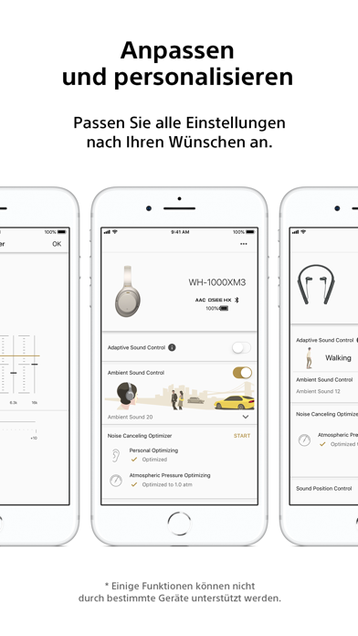 Screenshot for Sony | Headphones Connect in Germany App Store