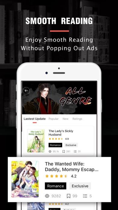 Flying Lines- Pocket Webnovels Screenshot