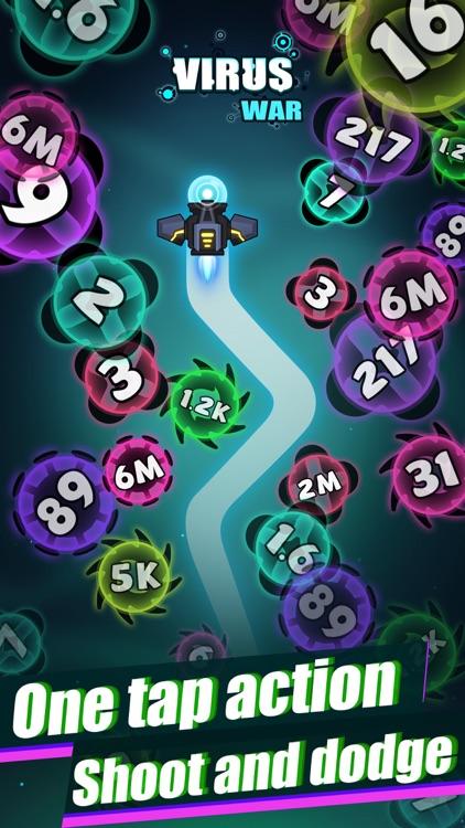 Virus War- Space Shooting Game screenshot-4