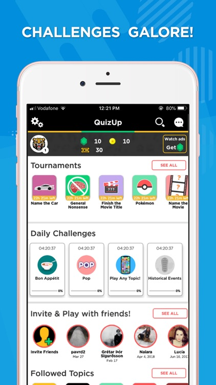 QuizUp® screenshot-1