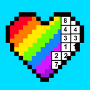 RAINBOW Color by Number icon