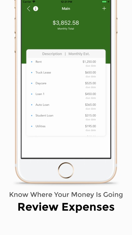 Tiniio: Spend & Budget Tracker screenshot-1