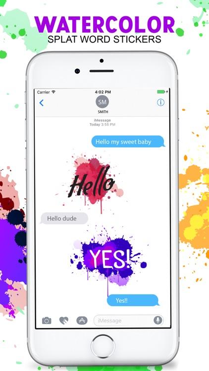The Watercolor Painting Emojis screenshot-3
