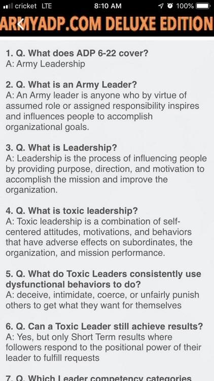 Army study guide ArmyADP.com