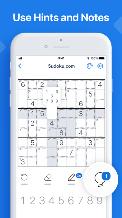 Killer Sudoku by Sudoku.com screenshot 7