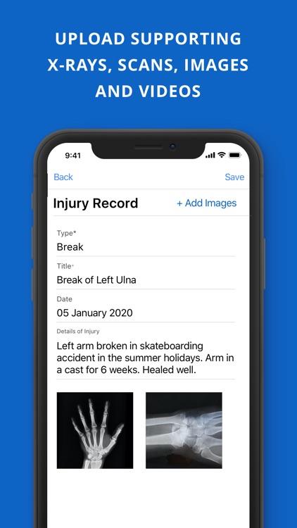 BodyMap3D Health Tracker screenshot-4