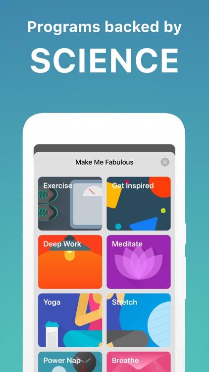 Fabulous - Daily Motivation screenshot-9