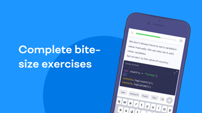 Screenshot for Mimo: Learn to Code & Program in United States App Store