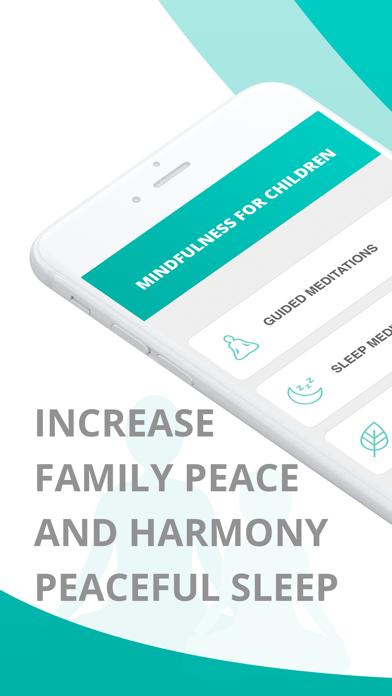 Mindfulness for Children App Screenshots