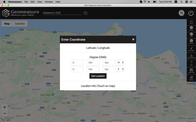 Geo Measure Area Calculator for Mac