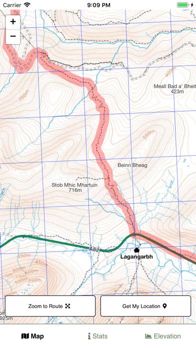 West Highland Way Map screenshot 3