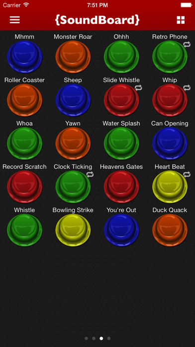 Screenshot #3 pour Sound Board - Funny Sounds!