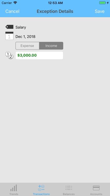 Money Forecast: CashFlow screenshot-7