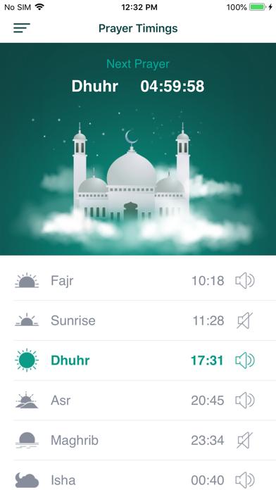 Ramadan 2019 PRO - Prayer Time Screenshots