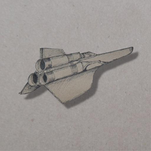 Weltraum Tinte