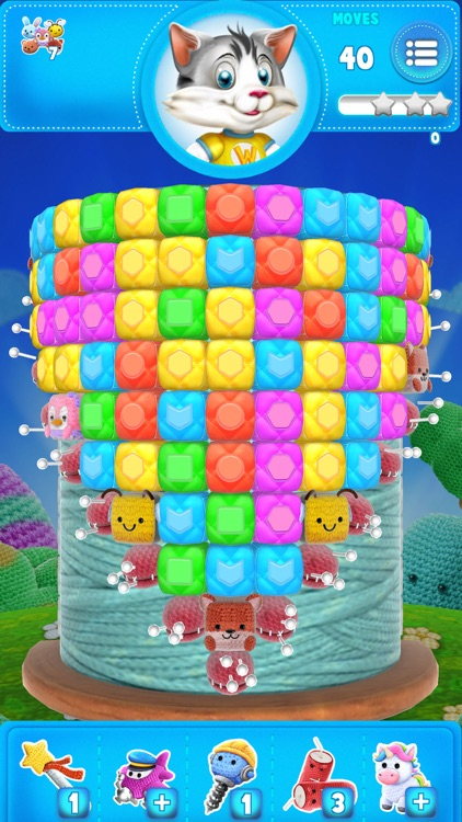 Wooly Blast: Top match-3 game screenshot-3