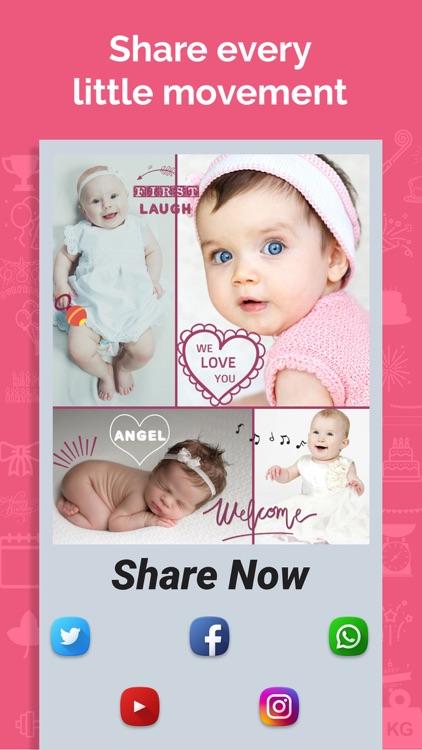 Baby Story Photo Maker screenshot-9