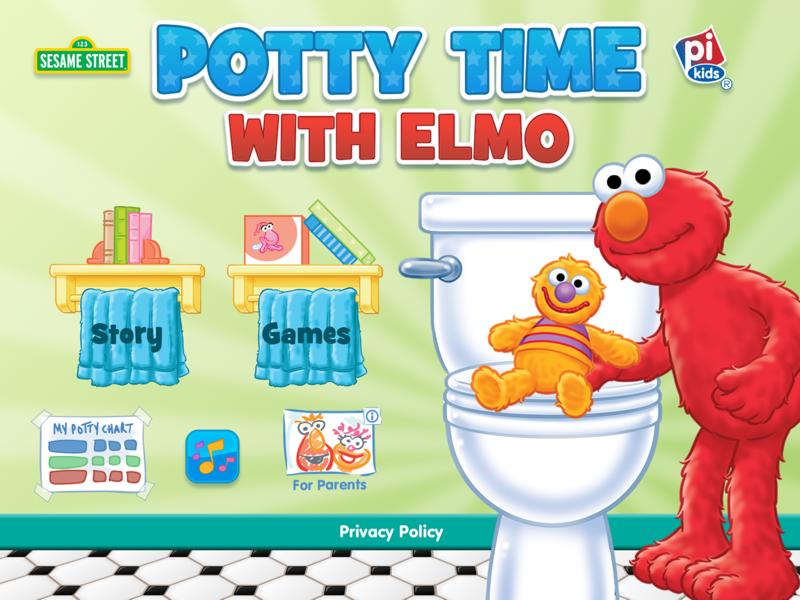 Potty Time with Elmo截图1