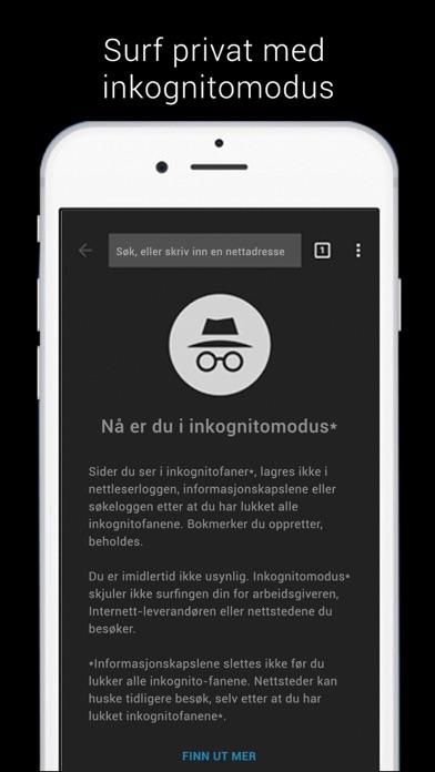 Screenshot for Google Chrome in Norway App Store