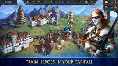 Screen Shot Heroes Of War Magic 3