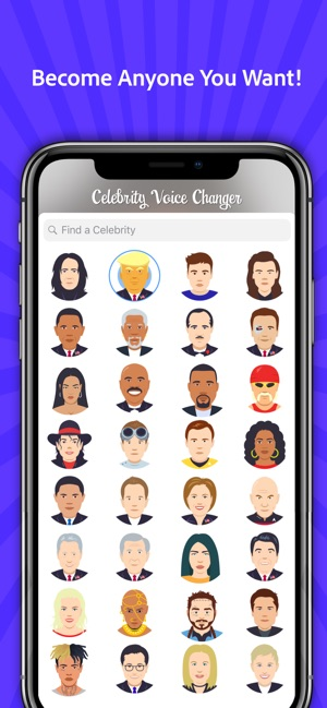 Celebrity Voice Changer -Sound on the App Store