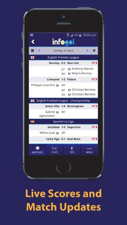 Infogol – Expected Goals App screenshot-3