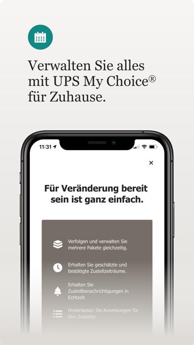 UPS MobileScreenshot von 6