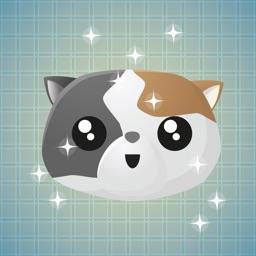 Sticker Me: Tricoloured Cat
