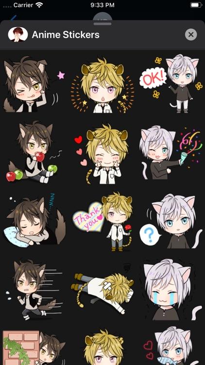 iStickers: Anime Stickers screenshot-6