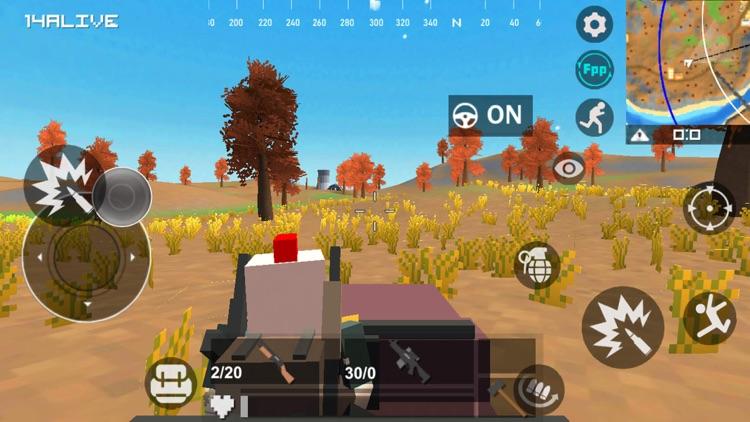 Wild battle lands screenshot-5