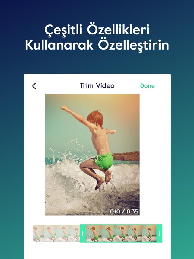 Magisto - Video Düzenleyici App Store'da