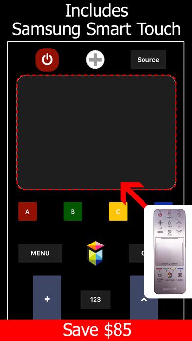 Remote TV for Samsung screenshot 2