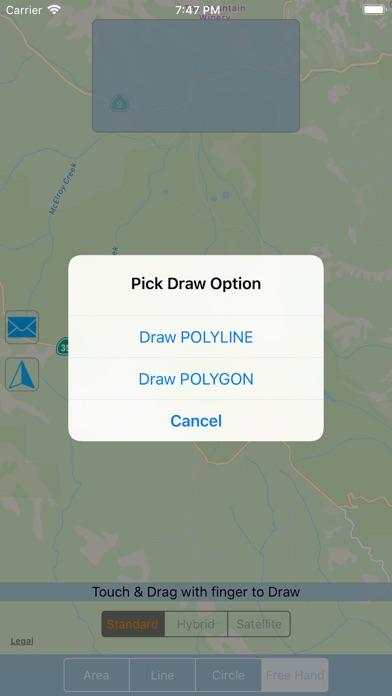 Screenshot for Map Geo-Measure & Shape Tool in Belgium App Store