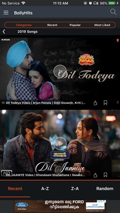 BollyHits: Hindi Videos 2019 screenshot-5