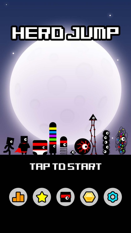 Hero Jump - Stickman Parkour screenshot-0