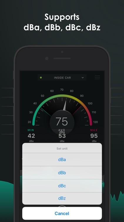 Decibel - sound level meter screenshot-3