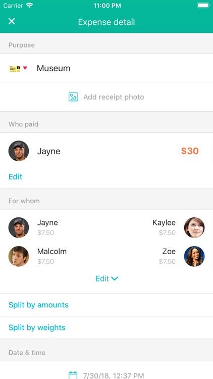 Settle Up - Group Expenses screenshot-5