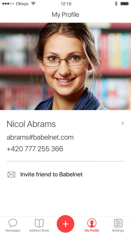 Babelnet - Encrypted Messaging screenshot-3