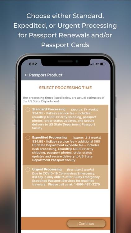 ItsEasy Passport Renew & Photo screenshot-4