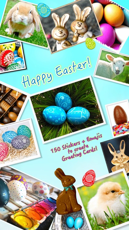 Happy Easter • Greeting cards screenshot-0