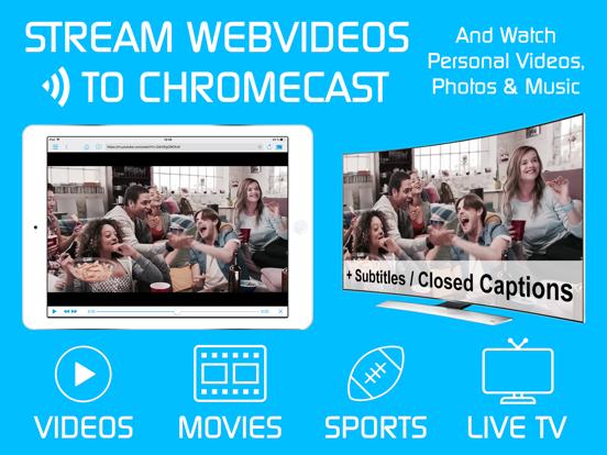 Screenshot #4 pour Video & TV Cast + Chromecast