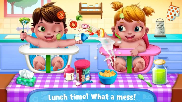 Baby Twins Babysitter