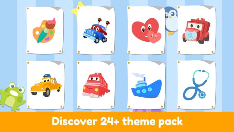 Car City - Kids Coloring Book screenshot-3