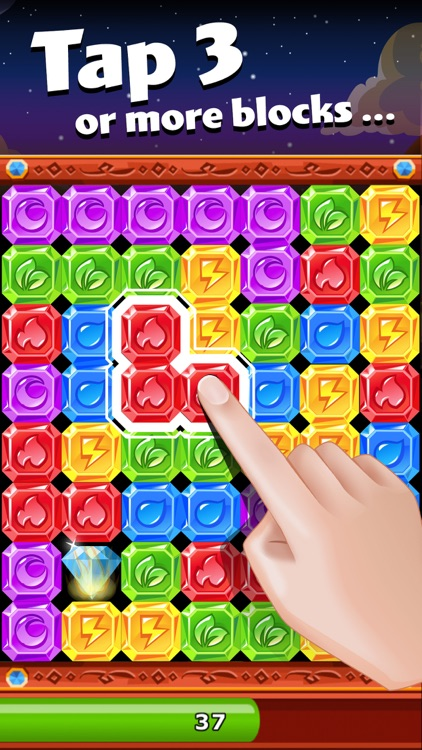 Diamond Dash: Gem Puzzle Game screenshot-0