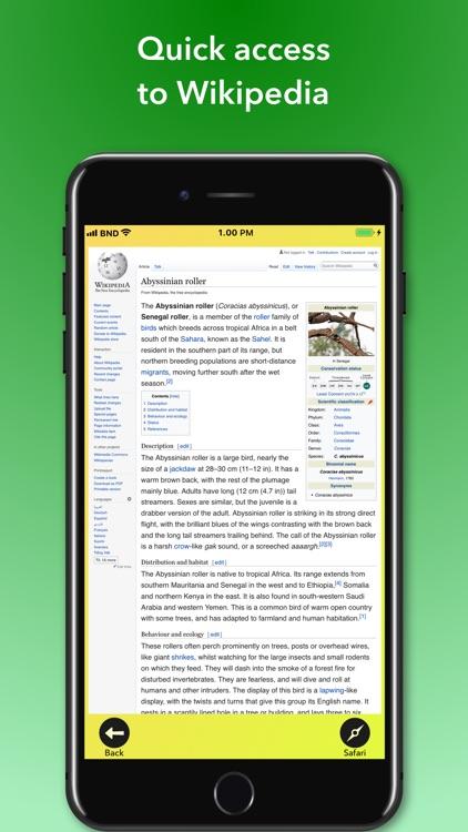 Bird Names Dictionary screenshot-5